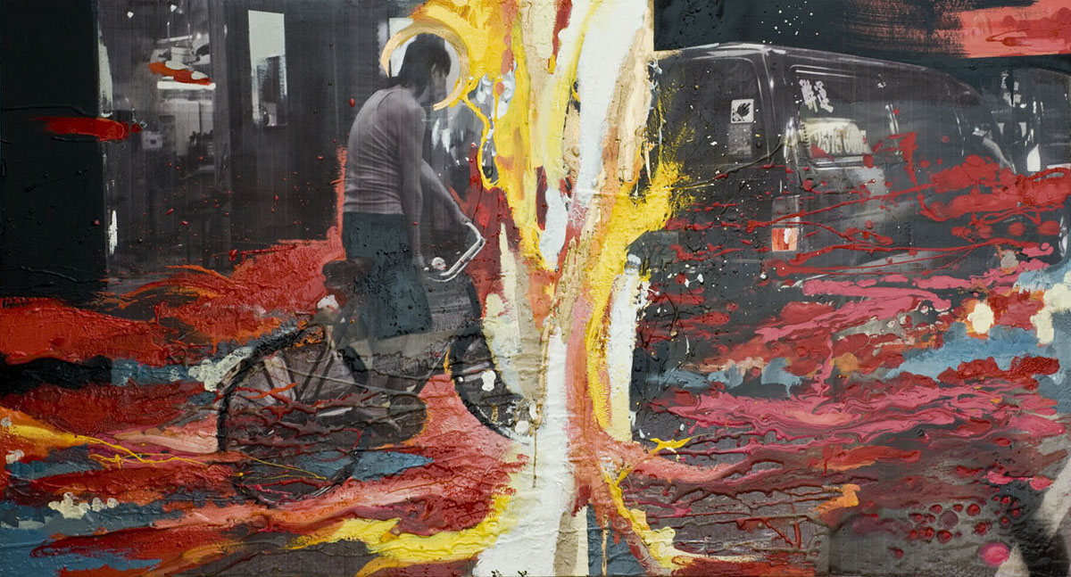 PAINTINGS -  Balance in chaos